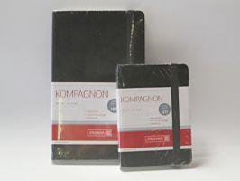 Blok Kompagnon černý - čtverečkovaný