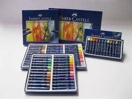 Olejový pastel Faber-Castell