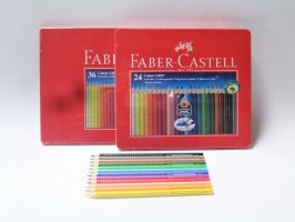 Akvarelové pastelky Faber-Castell Colour Grip