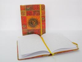 Záznamní kniha 13x18cm - slunce