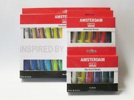 Sada akrylových barev Amsterdam
