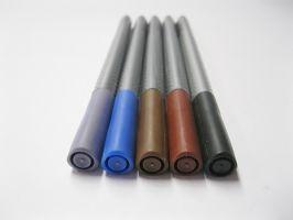 Faber-Castell Grip - tmavé odtíny