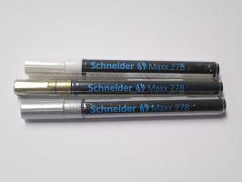 Lakový popisovač Schneider