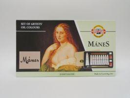 Sada olejových barev Mánes