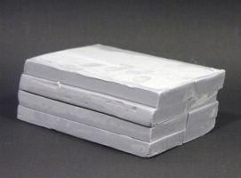 Modelovací hmota 1000g šedá