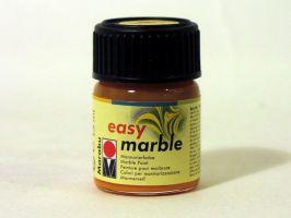 Mramorovací barva Marabu žlutá střední 15ml