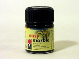 Mramorovací barva Marabu černá15ml