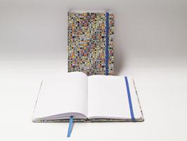 Záznamní kniha 13x18cm - mozaika
