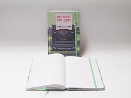 Záznamní kniha 13x18 - psací stroj