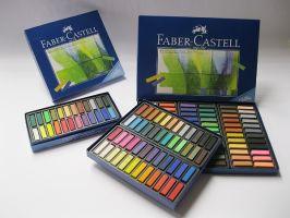 Pastel prašný Faber-Castell