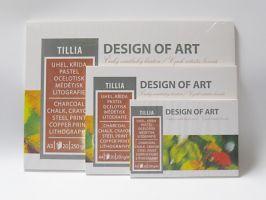 Blok Tillia, 20 listů, 250g