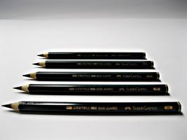 Grafitová tužka Faber-Castell - Jumbo