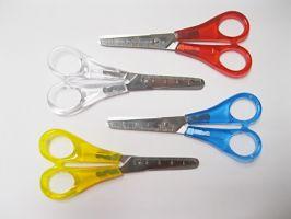 Nůžky dětské s kulatou špičkou Heyda
