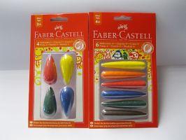 Voskovky pro nejmenší Faber-Castell