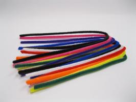 Drátek žinilkový mix 10 barev